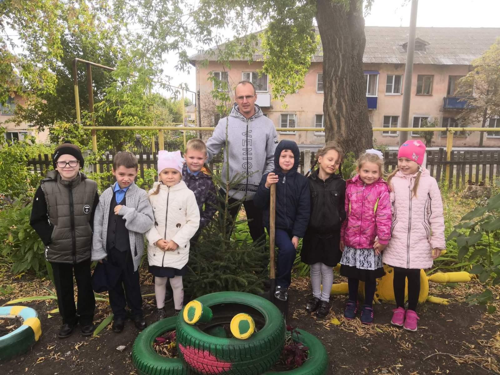 Школьный сад